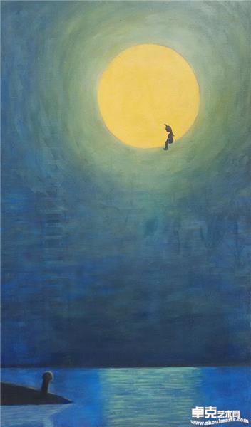 不寻常的夜月